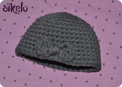 bonnet crochet debutant