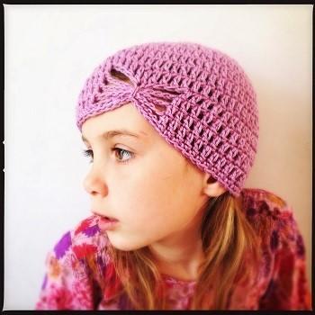 bonnet crochet fille