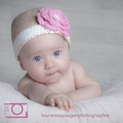 bonnet en laine bebe