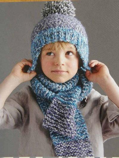 bonnet en laine enfant