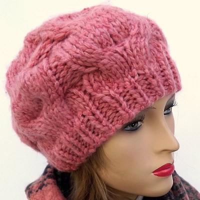 bonnet femme a tricoter