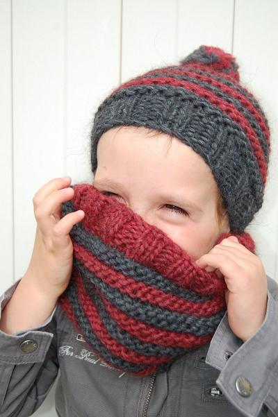 bonnet garcon a tricoter