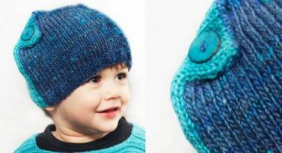 bonnet pour bebe a tricoter