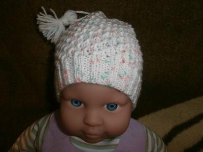 bonnet tricot bebe