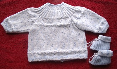 brassiere bebe tricot explications