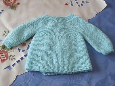 brassiere naissance a tricoter