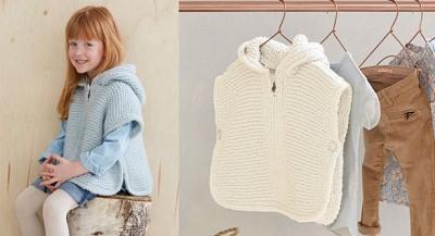 cape enfant tricot