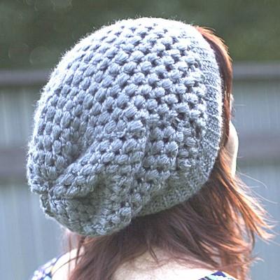 chapeau au crochet pour femme