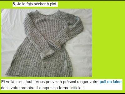 comment faire un pull en laine