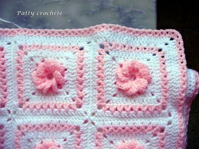 couverture bebe crochet facile