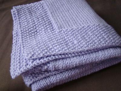 couverture tricot bebe patron