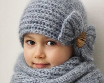 explication tricot bonnet enfant