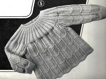 explication tricot layette gratuit