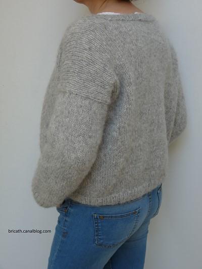 faire un gilet en laine