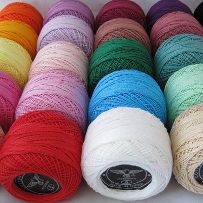 fil de coton pour crochet