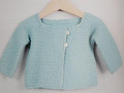 gilet bebe a tricoter gratuit