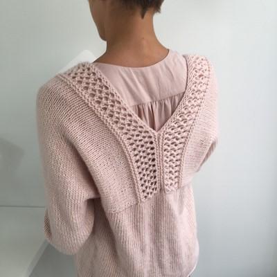 gilet en tricot