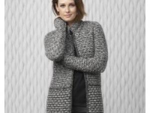 gilet femme a tricoter gratuit