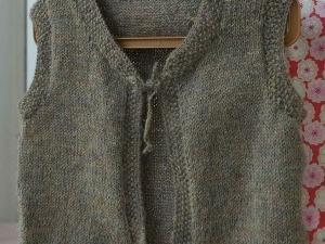 gilet sans manche tricot gratuit
