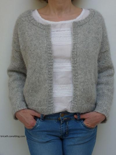 gilet tricot facile