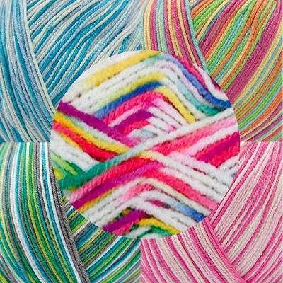 laine multicolore pas cher