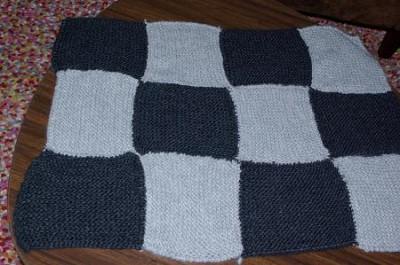 laine pour tricoter couverture