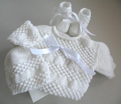layette tricot bebe