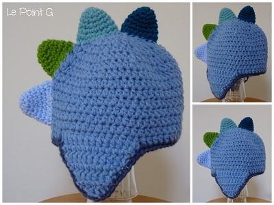 modele bonnet crochet bebe