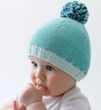modele bonnet tricot bebe