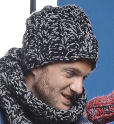 modele bonnet tricot homme gratuit