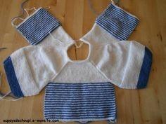 modele brassiere bebe tricot gratuit