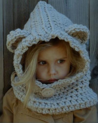 modele cagoule tricot gratuit