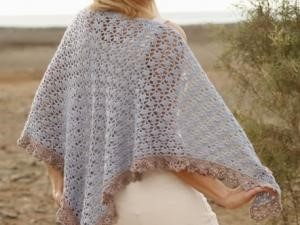 modele chale crochet gratuit facile