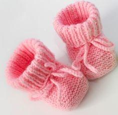 modele chausson bebe gratuit