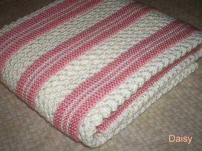 modele couverture bebe crochet