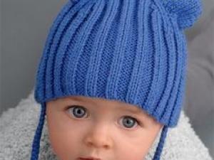 modele de bonnet pour bebe au tricot