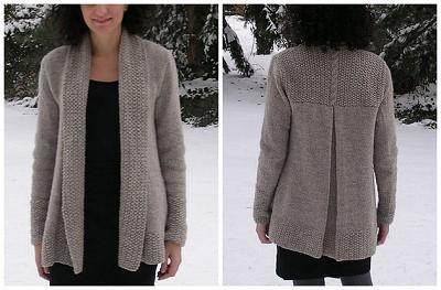 modele de gilet a tricoter