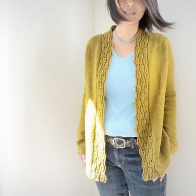 modele de gilet au tricot