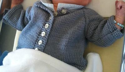 modele de gilet pour bebe