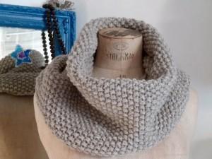 modele de snood au tricot