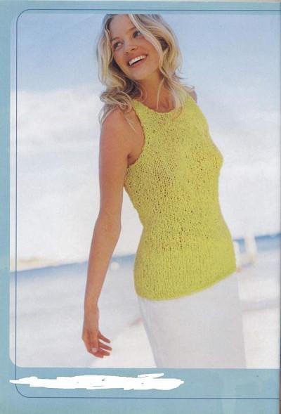 d7ea4333af2c3 modele debardeur femme tricot gratuit