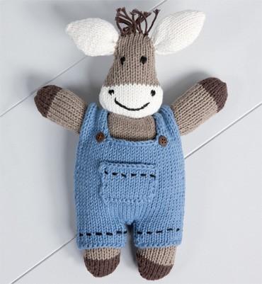 modele doudou tricot