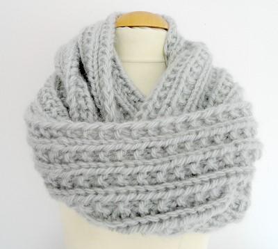 modele echarpe a tricoter gratuit