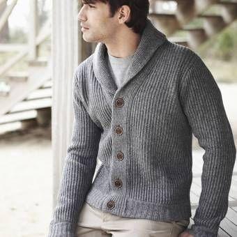 modele gilet homme tricot gratuit