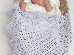 modele gratuit couverture bebe