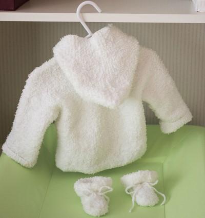 modele gratuit tricot layette