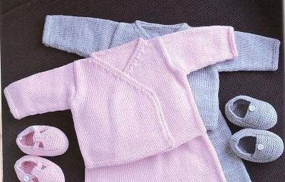 modele layette bebe tricot gratuit