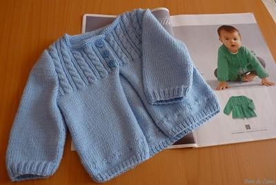 modele layette tricot gratuit