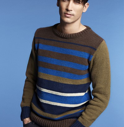 modele pull homme tricot