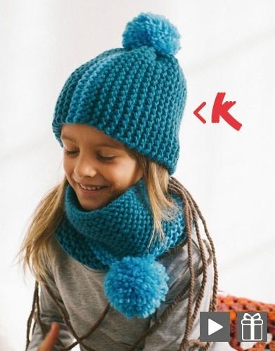 modele tricot bonnet enfant